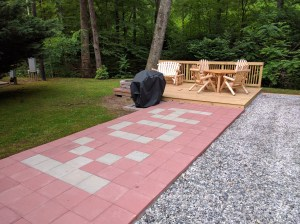 Deluxe patio site...Wow!
