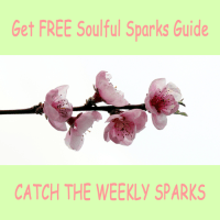 Get FREE Soulful Sparks Guide. Catch the Weekly Sparks. Be Inspired.