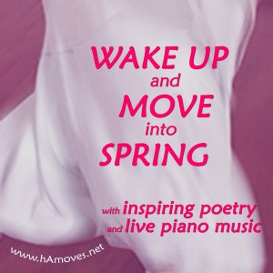 Let's wake up and move into Spring in harmony.