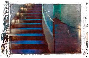 Textured Stairway