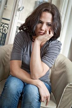 woman in need of spiritual counseling