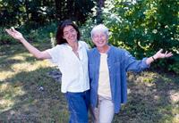 Two Joyful Women Celebrating