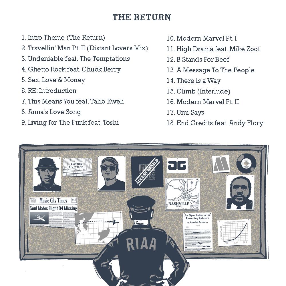 Yasiin Gaye The Return (Side Two) back