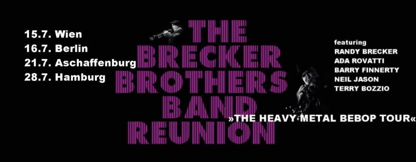 THE HEAVY METAL BEBOP TOUR 2014