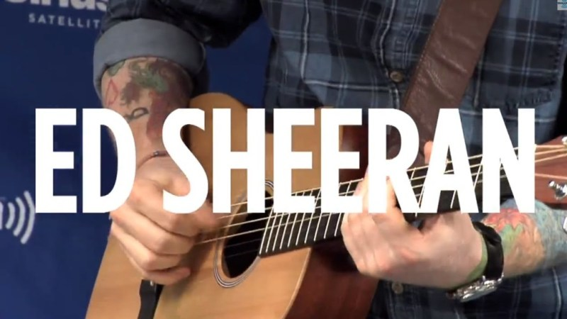 Ed Sheeran Don't Sidewalk Session