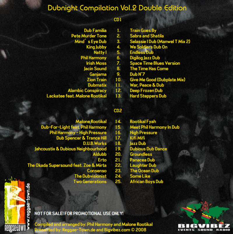 dubnight vol 2 back