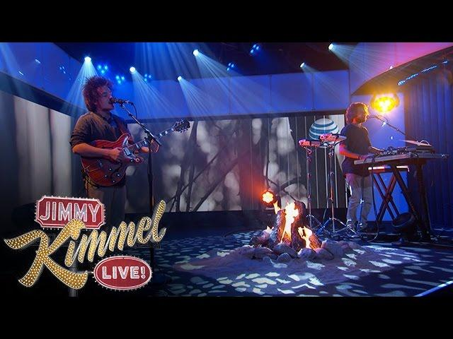 "Milky Chance Performs ""Stolen Dance"" on Jimmy Kimmel Live"