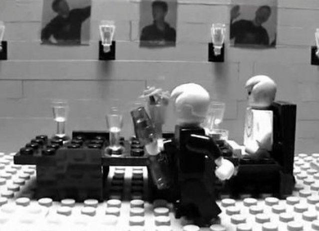 Dinner for One - Lego-Version