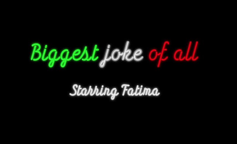 Fatima - Biggest Joke Of All (Official Video)