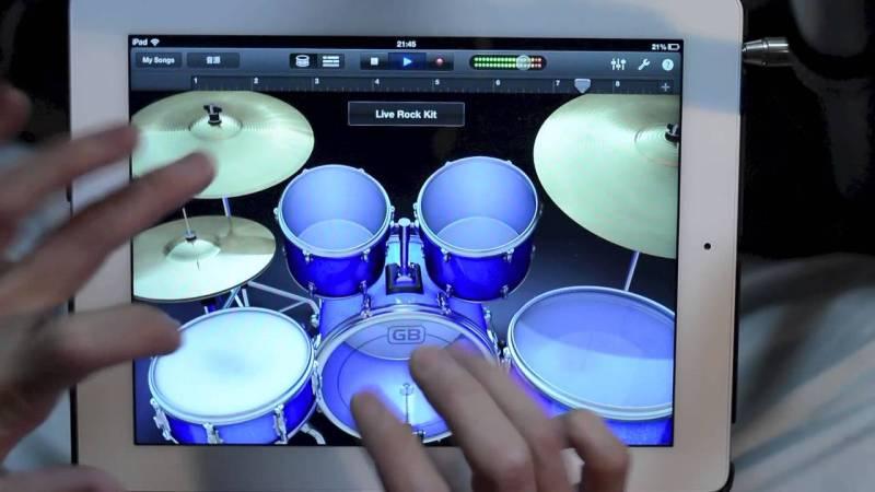 iPad Drum Solo
