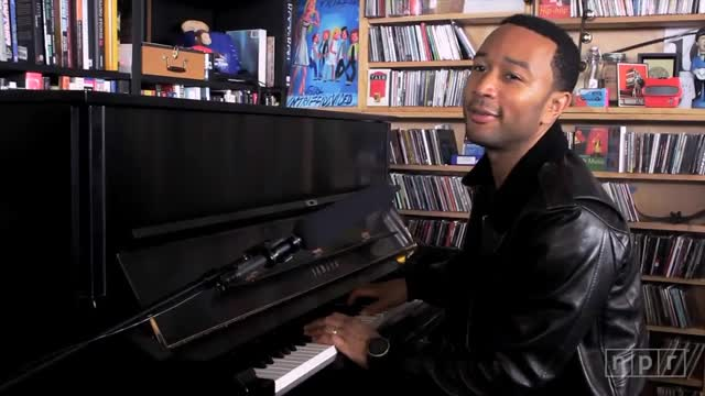 John Legend Tiny Desk Concert