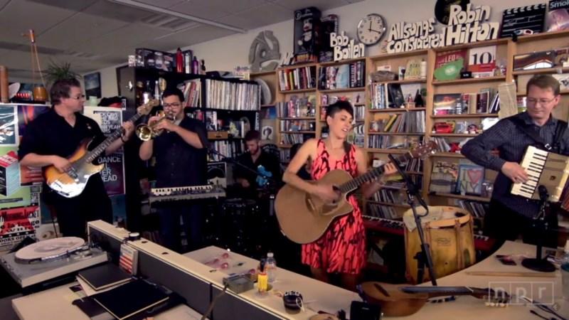 Gina Chavez Tiny Desk Concert