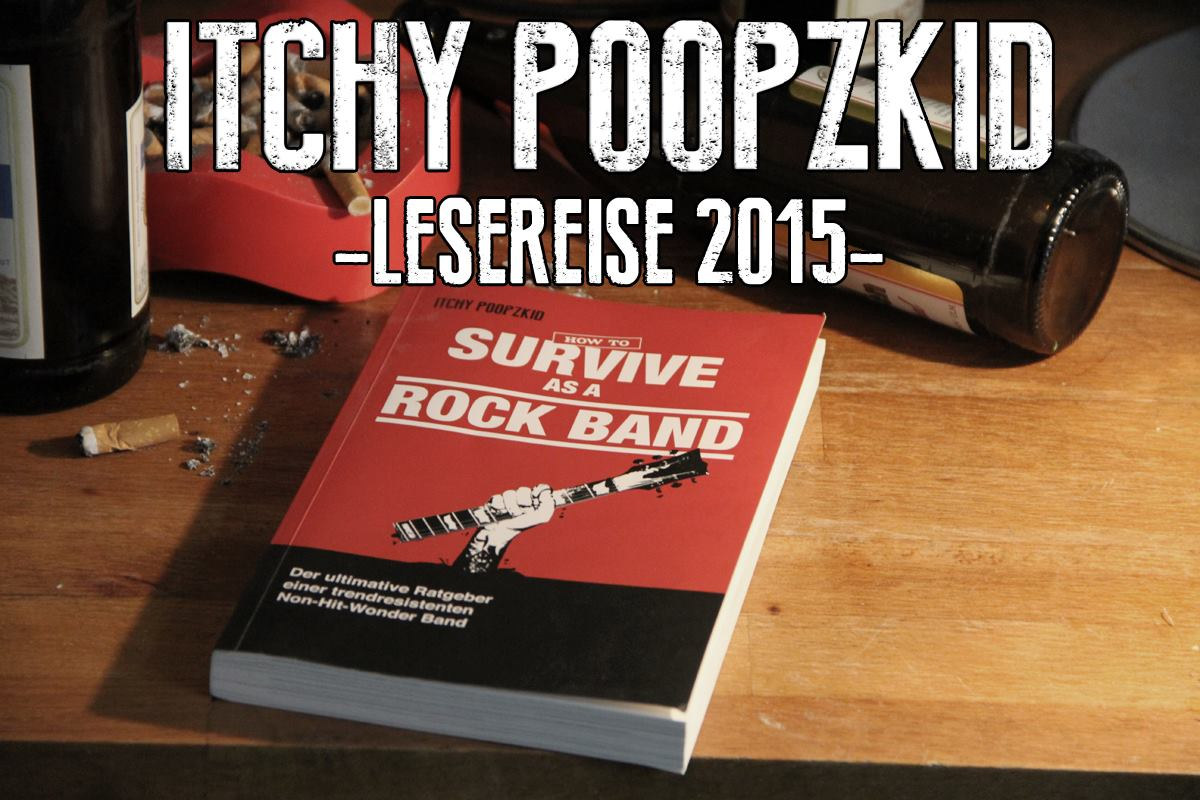 ITCHY POOPZKID lesereise