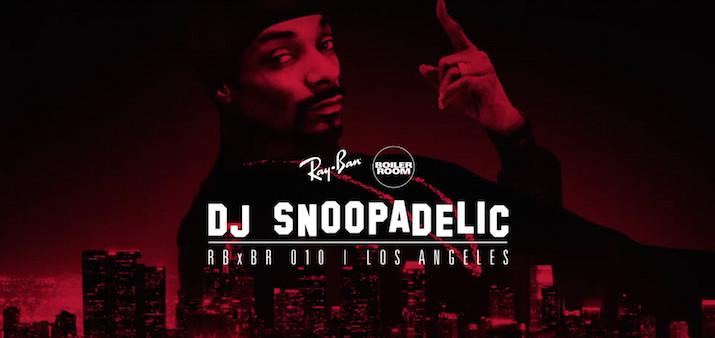 DJ Snoopadelic Ray-Ban x Boiler Room 010 Los Angeles Live Set
