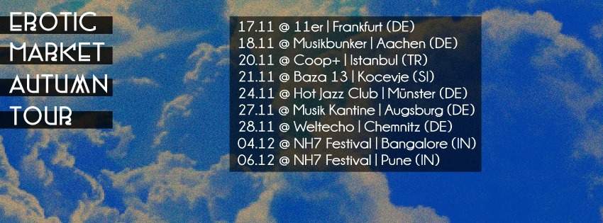 Erotic Market tourdaten 2015