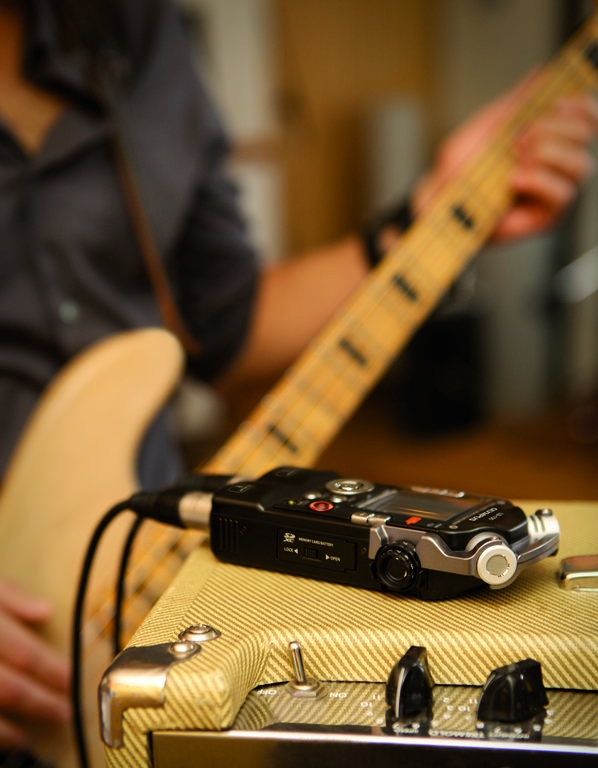 E-Guitar, Band, Record