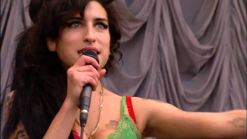 Amy Winehouse at Glastonbury 22.06.2007 [Day]