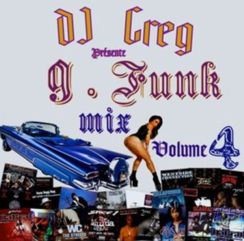 OLD SCHOOL G-FUNK MIX WEST COAST VOLUME 4