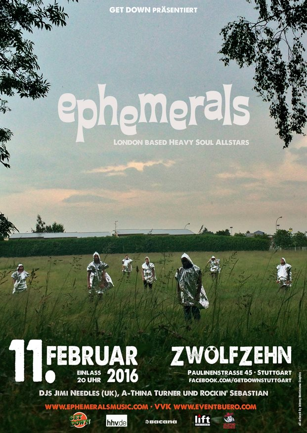 EPHEMERALS (UK) - live in Stuttgart
