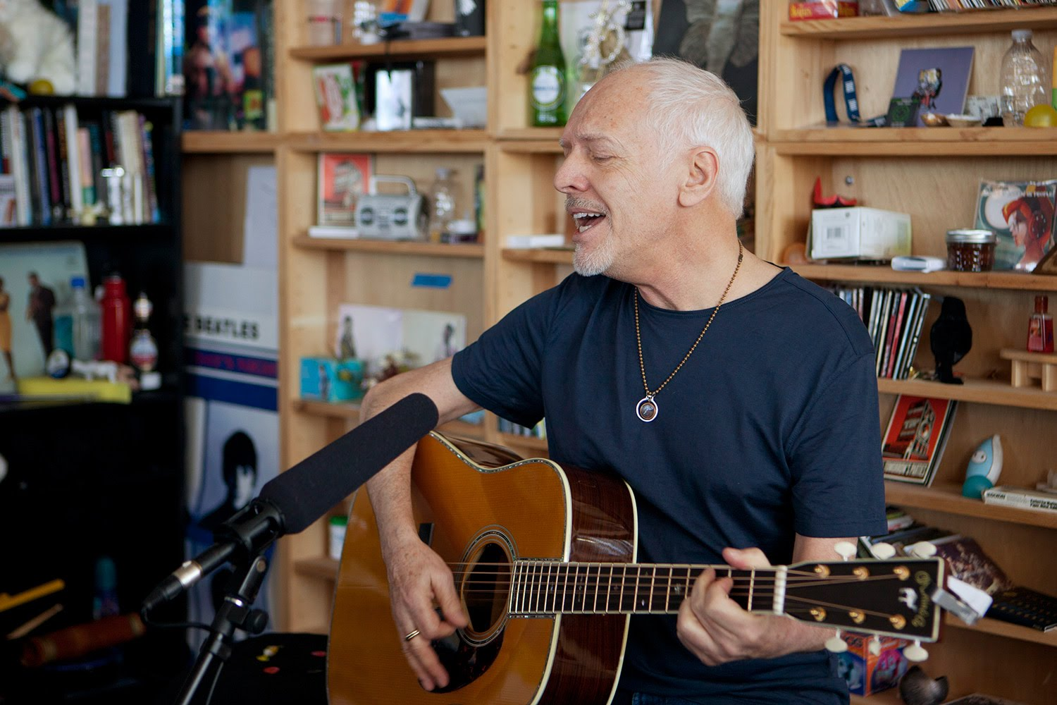 Peter Frampton- Tiny Desk Concert - NPR