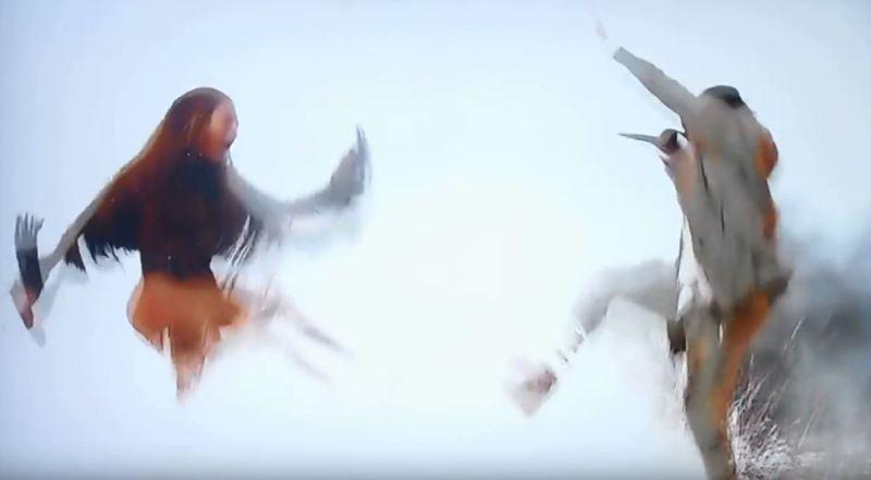 "Beyoncé & Kendrick Lamar performen ""Freedom"" live @ #BETAWARDS"