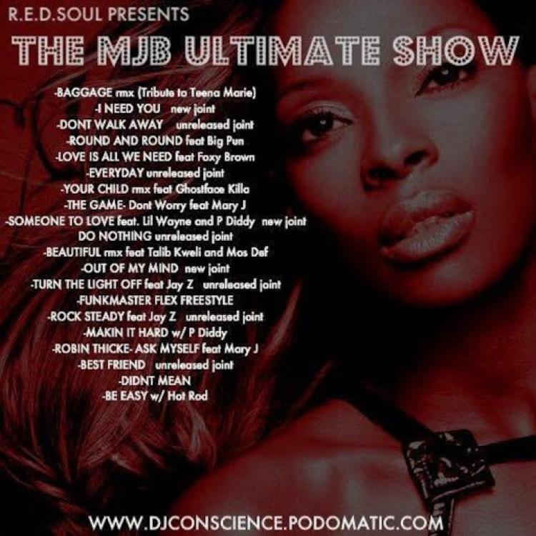 DJ Conscience's Ultimate MJB Show Mix