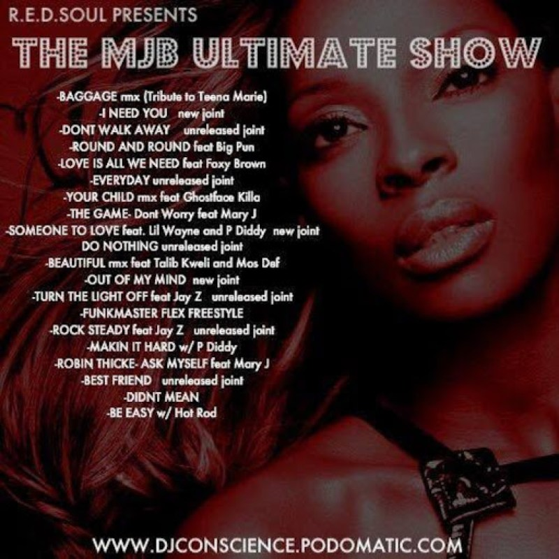 DJ Conscience's Ultimate MJB Show Mix