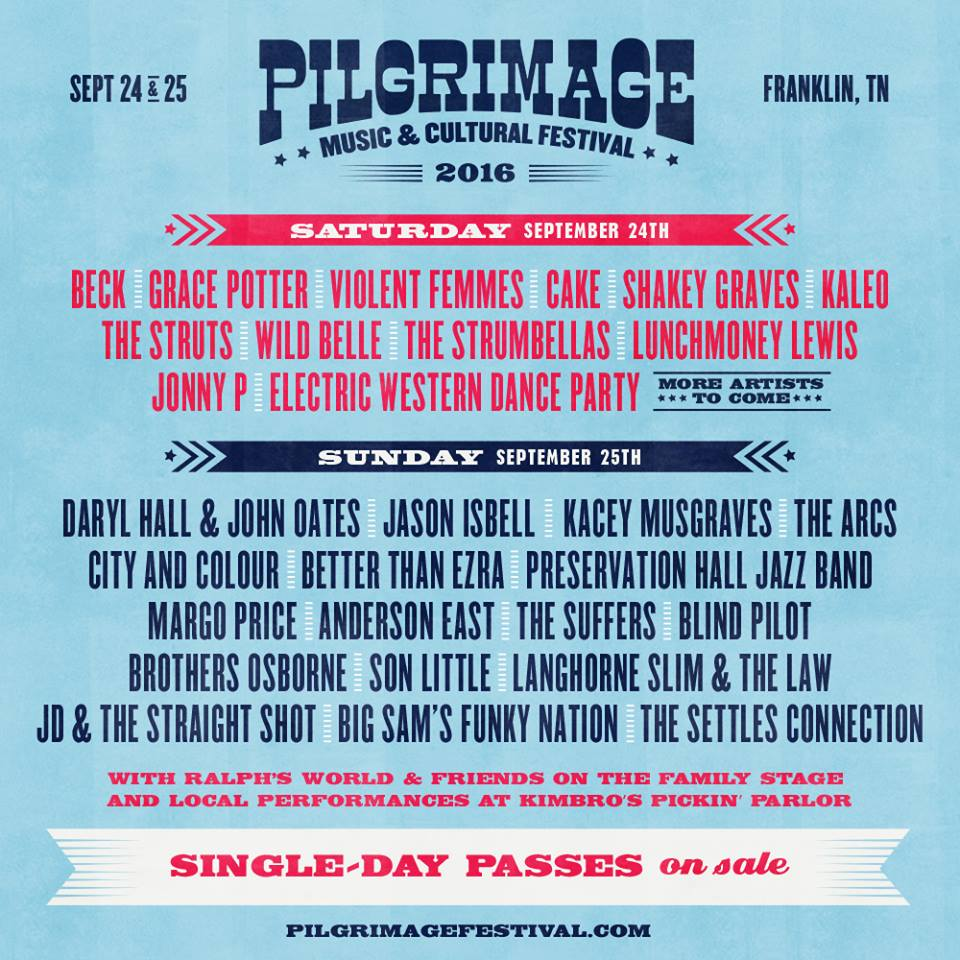 pilgrimage 2016 line up