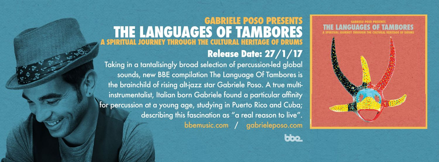 Gabriele Poso presents The Languages of Tambores (Video + full Album stream)