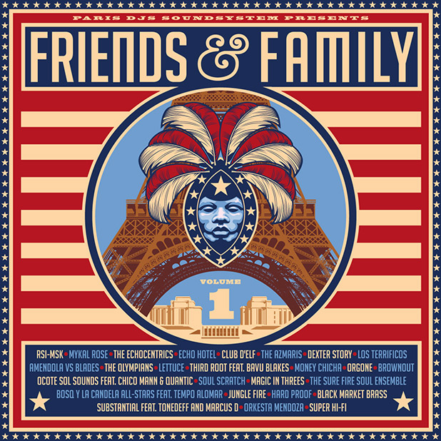 Paris DJs Soundsystem presents Friends & Family Vol.1 // free podcast