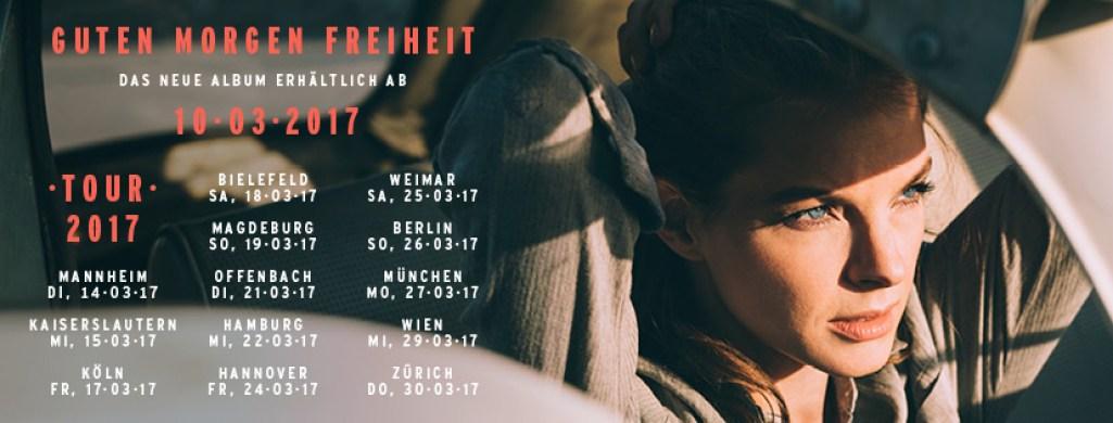 #GutenMorgenFreiheit - Happy Releaseday Yvonne Catterfeld! (6 Videos + Tourdaten)