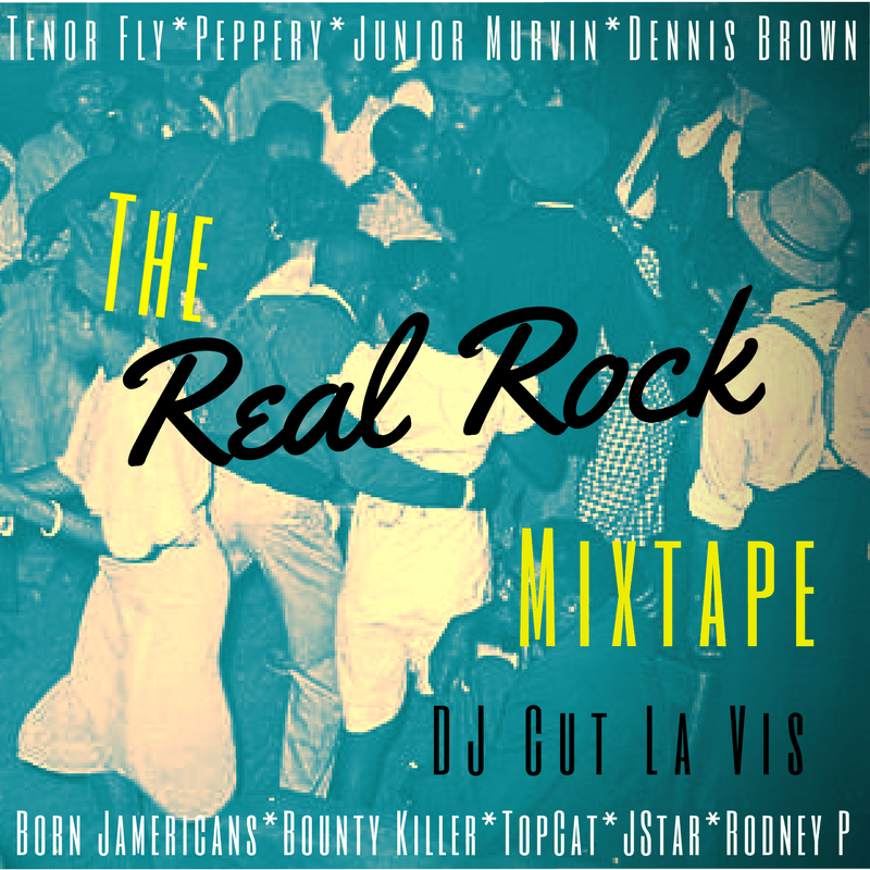 The Real Rock Mixtape by DJ Cut La Vis // free download