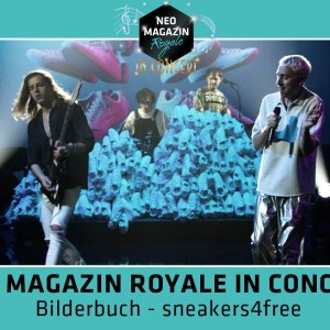 TIPP: Bilderbuch - sneakers4free LIVE @ NEO MAGAZIN ROYALE in Concert (Video)
