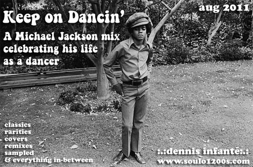 Classic Mixes: Keep On Dancin' - A Michael Jackson Mix by Dennis