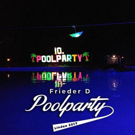 Frieder D - Poolparty Linden 2017 (DJ Set @ Linden, Thüringen) [free download]