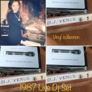 Classic Mixes: DJ VENUS N. 1 MIXTAPE - 1987 VINYL COLLECTION LIVE SET