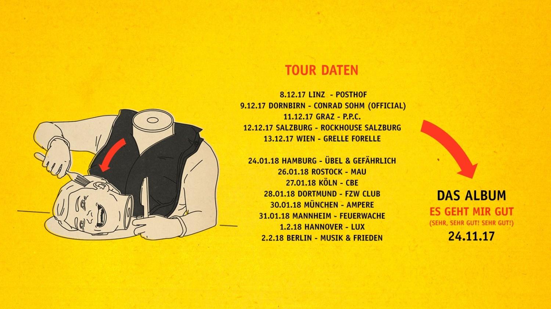 Videopremiere: Die Rakede - Nimmst du mich mit (Lyric-Video) // + Tourdaten