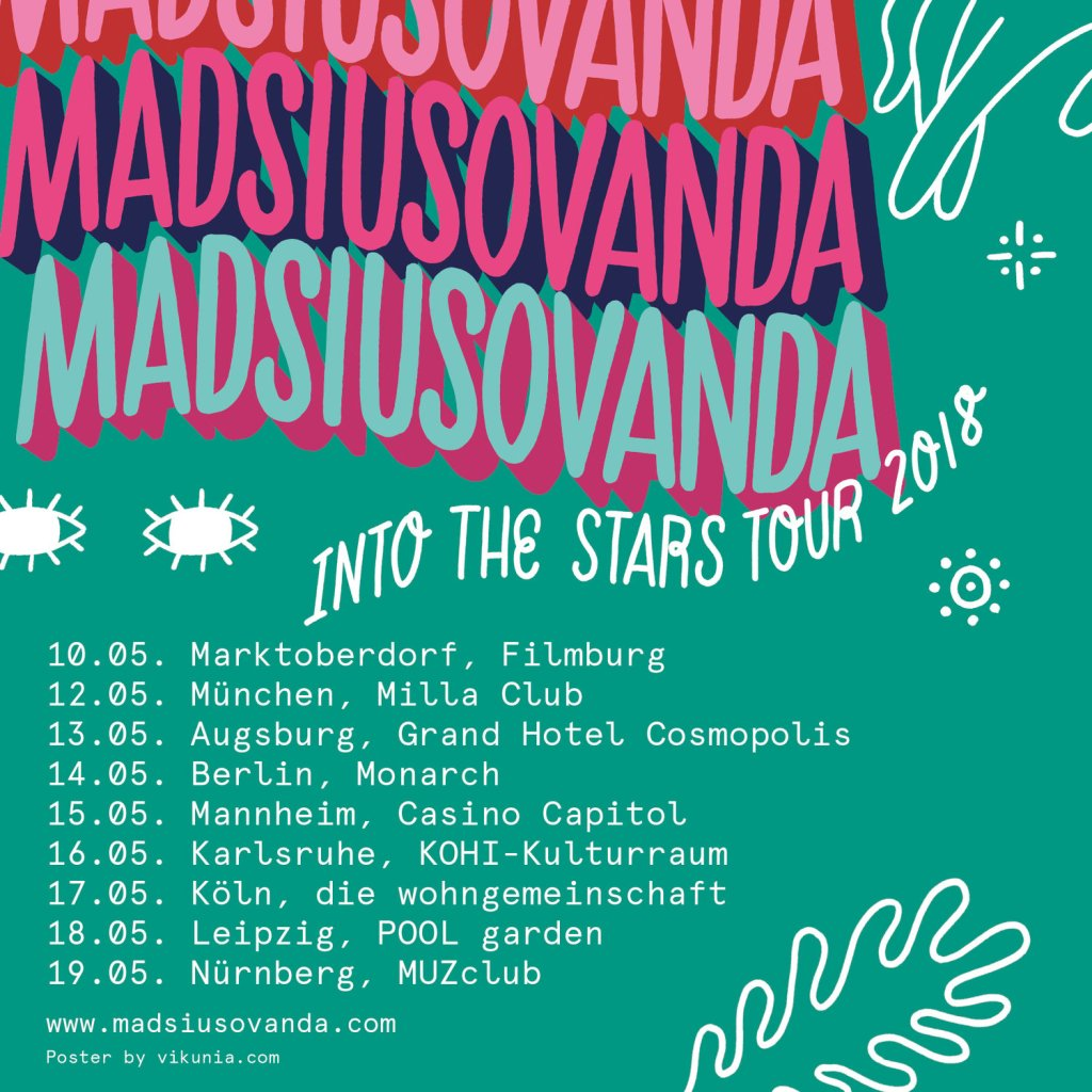 Videopremiere: MADSIUSOVANDA - Pretend To Be Blind // duo version