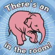 There's an elephant in the room!