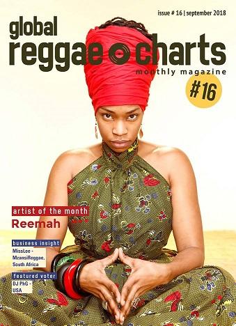 #GRC - Global Reggae Charts – Issue #16 - September 2018 - jetzt mit kostenlosem Mixtape!