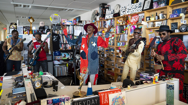 Jupiter & Okwess: Tiny Desk Concert (Video) #npr #tinydesk