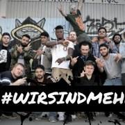 Videotipp: #wirsindmehr - 18 Münchener Rap-Acts veröffentlichen Song gegen Populismus und Hetze (Video) #antiafd #musikgegenrechts #wirsindmehr