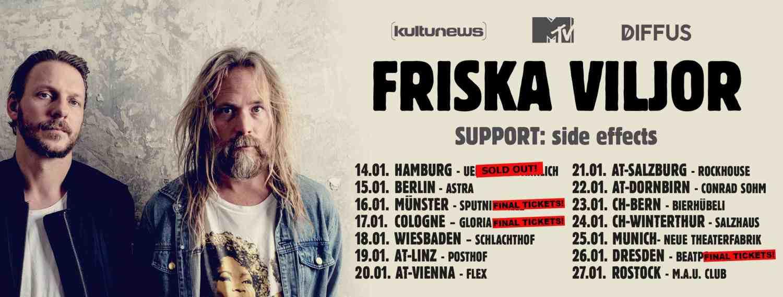 Happy Releaseday: Friska Viljor - #Broken • Video + Album-Stream + Tourdaten