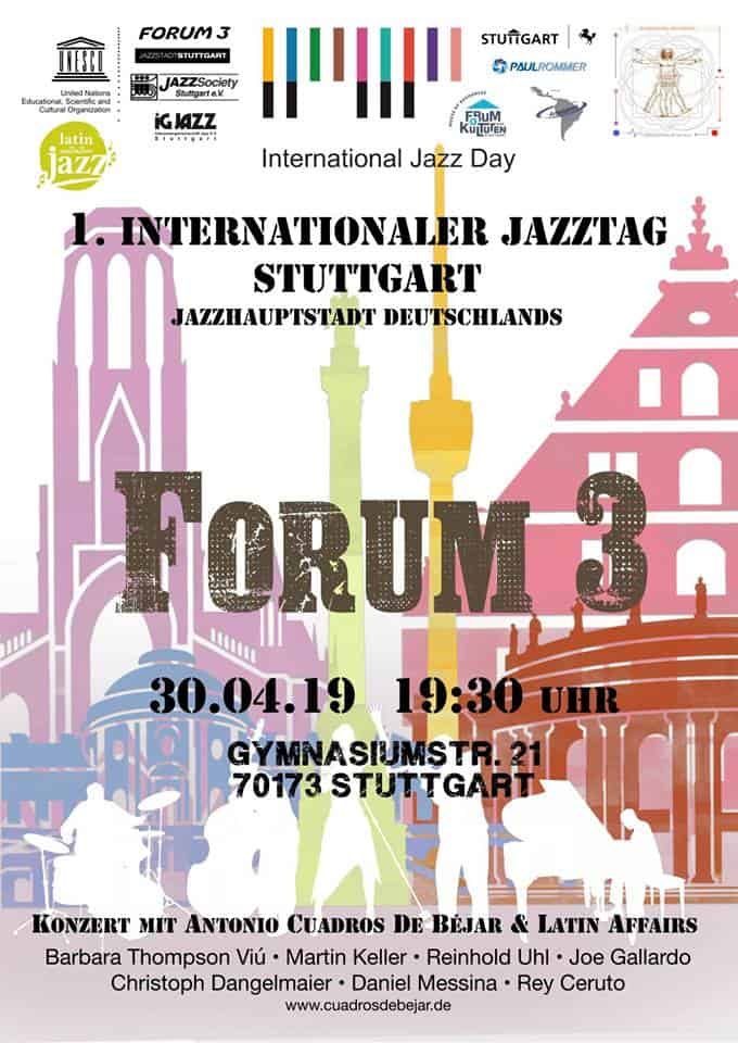 Veranstaltungstipp: 1. International Jazz Day Stuttgart