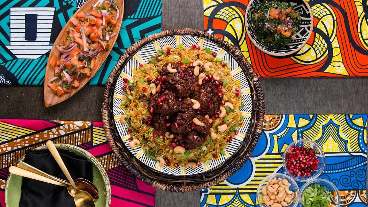 SOULFOOD: so isst man in WAKANDA - geschmortes Lamm mit Gemüsereis (Rezept)