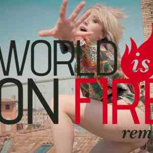 El V and The Gardenhouse - WORLD IS ON FIRE - Djay MISTA Remix feat. Francesca Taverni (Video)
