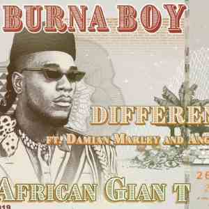 Burna Boy - Different (feat. Damian Marley and Angelique Kidjo) [Official Audio]