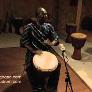 Djembe Solo by Master Drummer: M'Bemba Bangoura (Video)