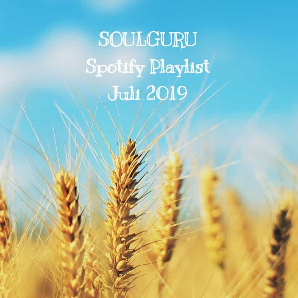Die SOULGURU Spotify Playlist Juli 2019 ist der perfekte Soundtrack für den Sommer - check it out!