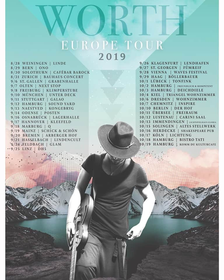 Videopremiere:WORTH - Days Go By // + Tourdaten #iamworth #youareworth #weareworth